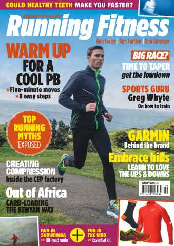Running Fitness issue No. 186 Warm Up For A Cool PB