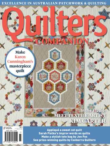 Quilters Companion issue Issue#77 - 2016