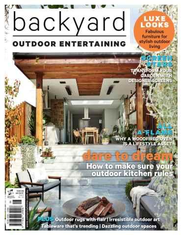 Backyard & Garden Design Ideas issue Entertaining #8 2015