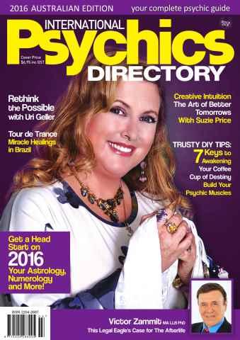 International Psychics Directory issue International Psychics Directory 2016