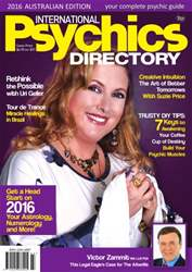 International Psychics Directory issue International Psychics Directory 2016