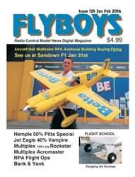 Radio Control Model News issue Flyboys Radio Control Model News