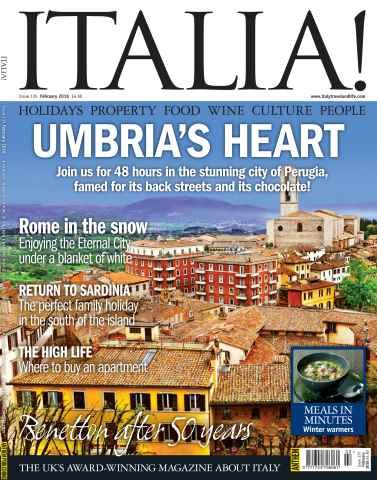 Italia! issue February 2016