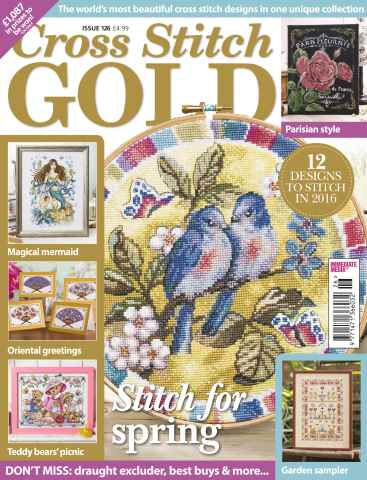 Cross Stitch Gold issue January 2016