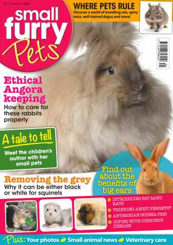 Small Furry Pets issue No. 26 Ethical Angora Keeping