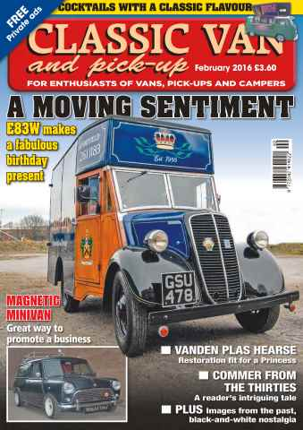 Classic Van & Pick-up issue Vol. 16 No. 4 A Moving Sentiment