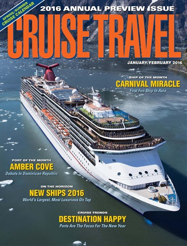 Cruise Travel issue January/February 2016