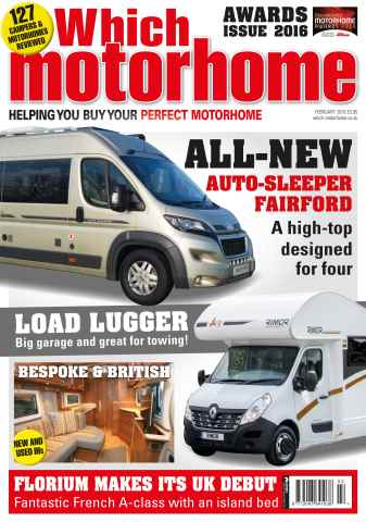 Which Motorhome issue Feb 2016