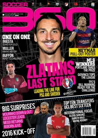Soccer 360 issue Jan/Feb 2016