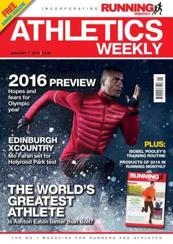 Athletics Weekly issue 07/01/2016