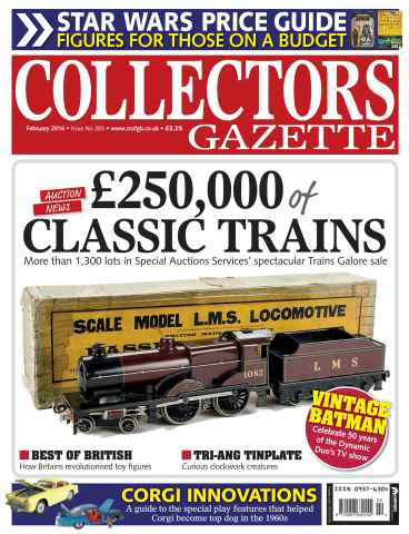 Collectors Gazette Preview 1