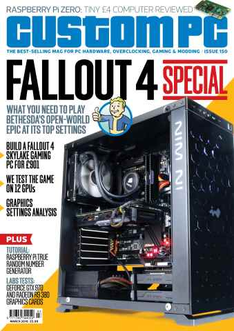 Custom PC UK issue March 2016