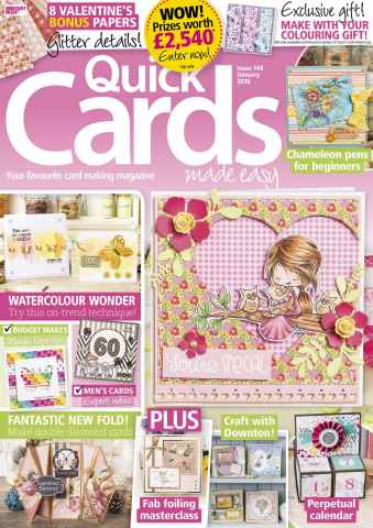 Quick Cards Made Easy issue January 2016