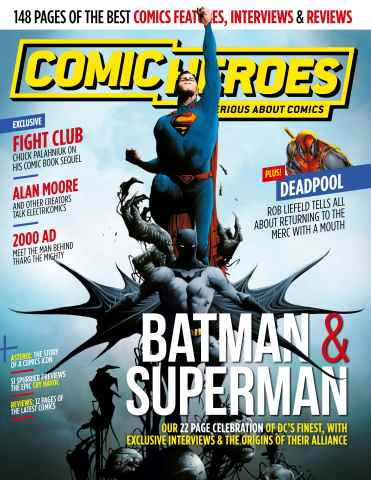 Comic Heroes issue Issue 26
