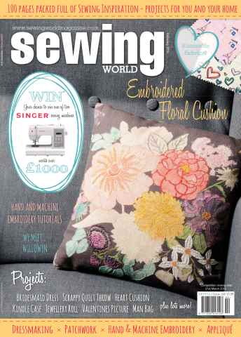 Sewing World issue February 2016
