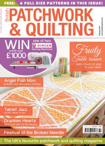 Patchwork and Quilting issue February 2016