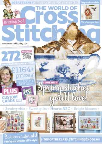 The World of Cross Stitching issue February 2016
