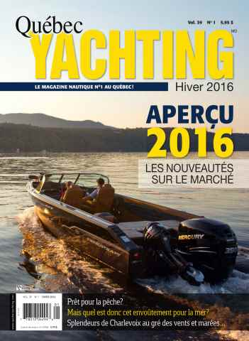 Quebec Yachting issue Hiver 2016