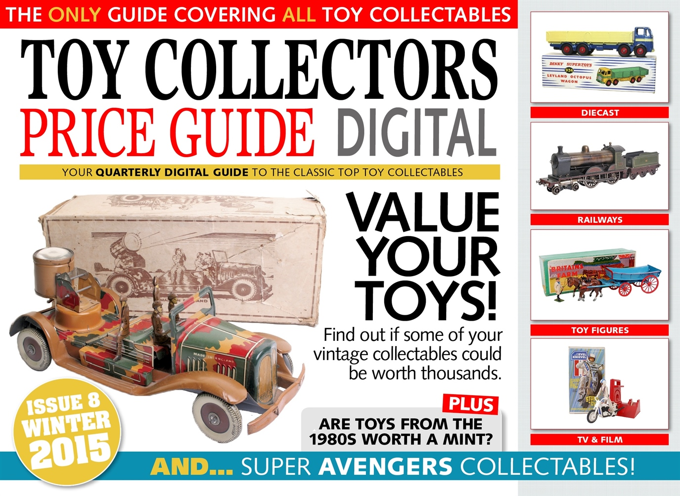 Toy Collectors Price Guide issue Winter 2015