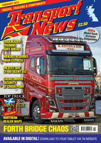 Transport News issue February 2016