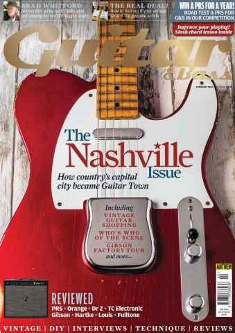 Guitar & Bass Magazine issue Feb 2016