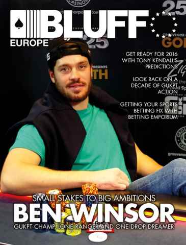 Bluff Europe issue January 16