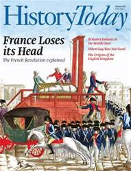 History Today issue February 2016