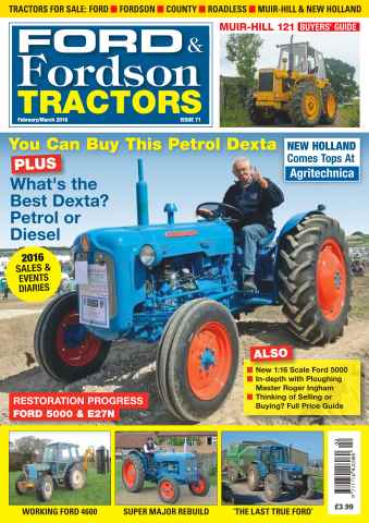 Ford & Fordson issue No. 71 You Can Buy This Petrol Dexta