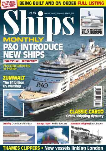 Ships Monthly issue No. 615 P&O Introduce New Ships