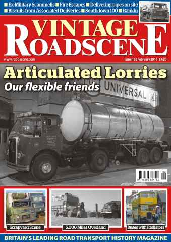 Vintage Roadscene issue No. 195 Articulated Lorries