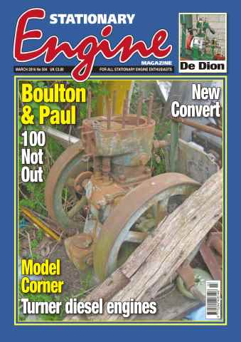 Stationary Engine issue No. 504 Boulton & Paul
