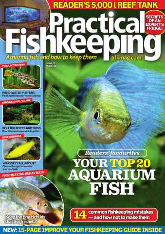 Practical Fishkeeping issue March 2016