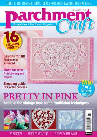 Parchment Craft issue February 2016