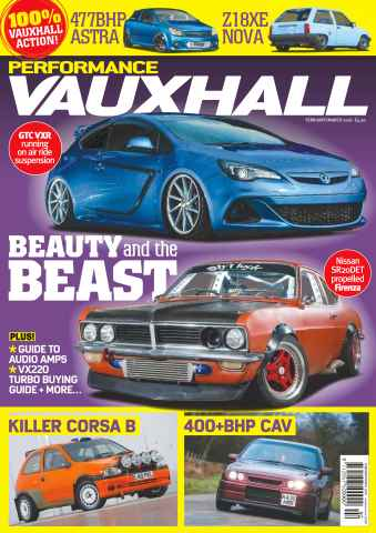 Performance Vauxhall issue No. 179 Beauty And The Beast