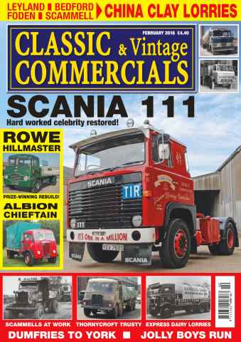 Classic & Vintage Commercials issue Vol. 21 No. 6 Scania 111