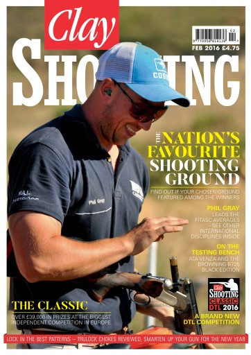 Clay Shooting issue February 2016