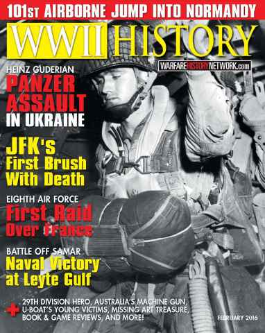 WW2 History Magazine issue February 2016