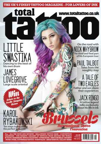 Total Tattoo issue TTM 136
