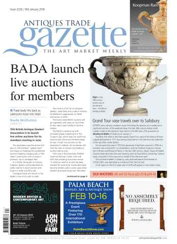 Antiques Trade Gazette issue 2224