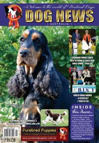 Dog News Australia issue 01 2016