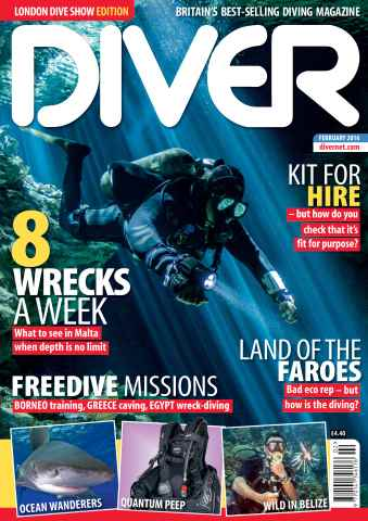 DIVER issue FEBRUARY 2016