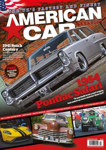 American Car Magazine issue February 2016