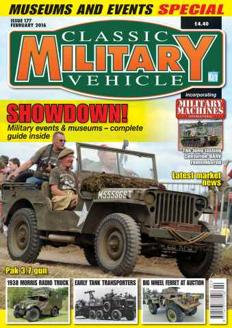 Classic Military Vehicle issue February 2016