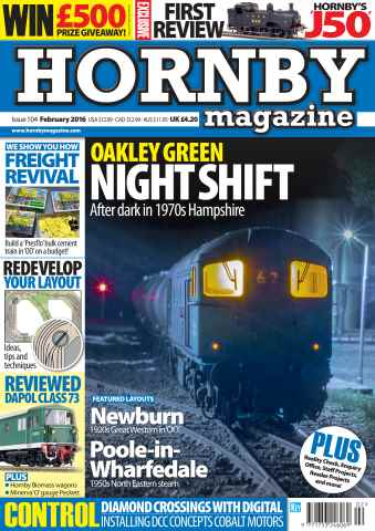 Hornby Magazine issue February 2016