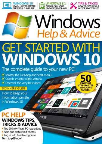 Windows Help & Advice issue February 2016