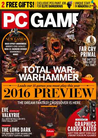 PC Gamer (UK Edition) issue February 2016