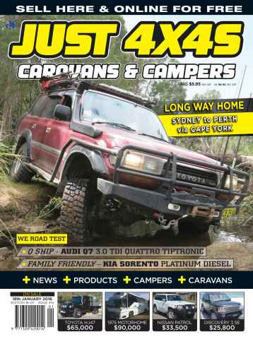 JUST 4X4S issue 16-007