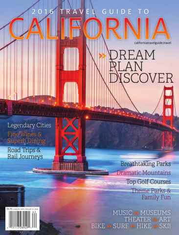 Globelite Travel Guides issue 2016 Calif. Guide