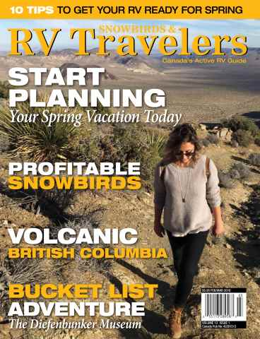 Snowbirds & RV Travelers issue Feb/Mar 16