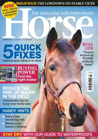 Horse issue March 2016